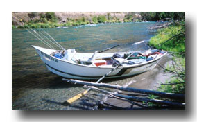 Deschutes River drift boat