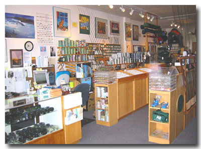 Inside pic of Albany store